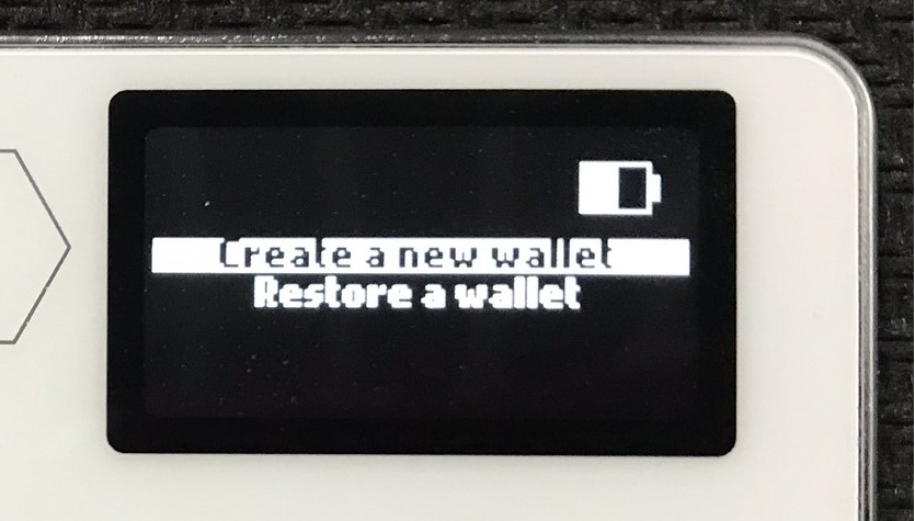 2 Initialize: Create a wallet